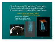 Three-Dimensional Computerized Tomographic Reconstruction of ...