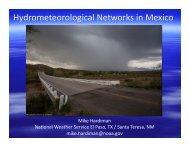 Mike Hardiman Na4onal Weather Service El Paso, TX / Santa ...