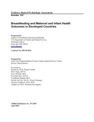 Breastfeeding and Maternal and Infant Health Outcomes in ...