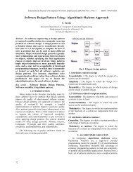 Software Design Pattern Using : Algorithmic Skeleton ... - Ijcns.com