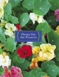 Please Eat the Flowers - Renee's Garden Seeds