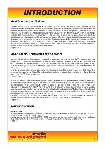GROUPES THERMIQUES MHR Replica - Malossi