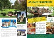 44. Skatchampionat (pdf) - skat-international.de