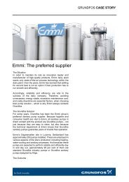 Emmi: The preferred supplier