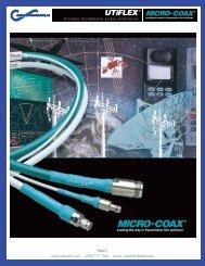 UFB311A-0-1200-50U50U DataSheet - Component Distributors, Inc.