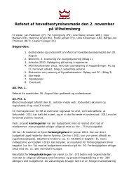 Referat af Hovedbestyrelsemøde den 2 ... - Dansk Varmblod