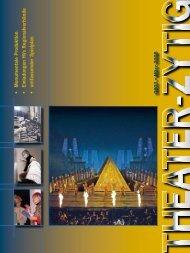 abo «theater-Zytig» zum halben Preis