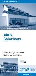 Drittes Symposium Aktiv-Solarhaus - Velux