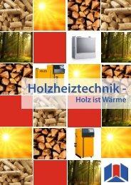 Prospekt Holzheiztechnik - Sotec Solar