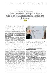 Unzumutbare Lehrpersonen - Daniel Steiner-Brütsch