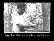 Presentation by Senator Jorge Viana