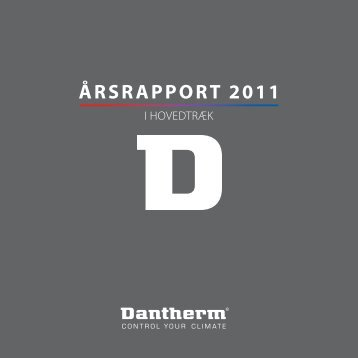 ÅRSRAPPORT 2011 - Dantherm