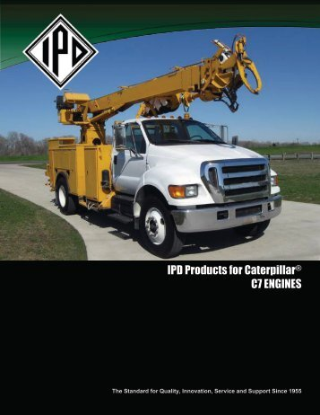 IPD Products for Caterpillar® C7 ENGINES - from IPD