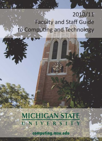 Academic Technology - IT Services - Michigan State University