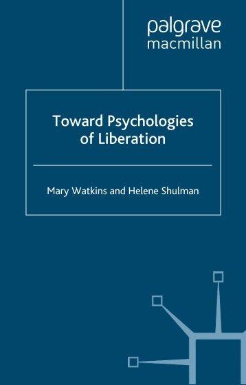 Toward liberation Psychologies