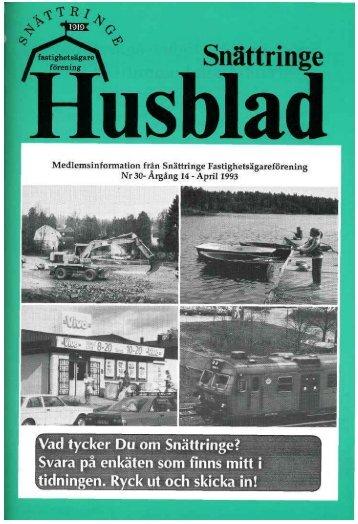 1993-2 - Snättringe fastighetsägareförening