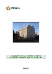 studie potenciálu úspor energie v obytných budovách ... - Hnutí DUHA