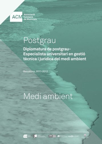 Postgrau Medi ambient - Associació Catalana de Municipis
