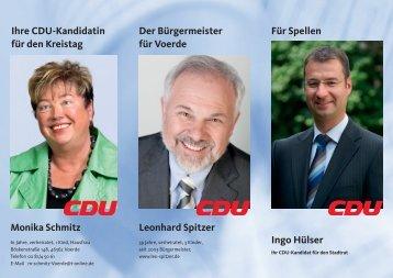 Ihr Ingo Hülser - der CDU Voerde