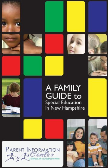 Family Guide to the Special Education Process - Parent Information ...