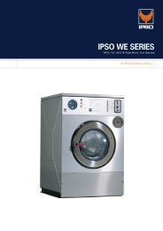 to download brochure for the ipso 16lb commercial washing machine