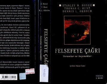 02-Felsefe'ye Çağrı-Stanley M. Honer-İmge Yayınları