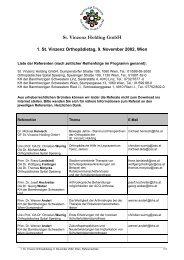 St. Vinzenz Holding GmbH - Vinzenz Gruppe