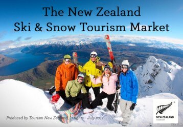 Ski and snow tourism from Australia - Tourism New Zealand