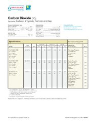 Carbon Dioxide CO2 - Air Liquide America Specialty Gases