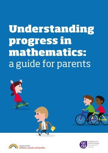 Understanding progress in mathematics: - Blackfield Primary School
