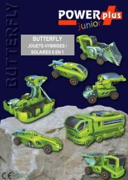 POWERplus® BUTTERFLY JOUETS HYBRIDES ... - Eqwergy