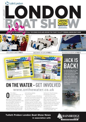 JACK IS - London Boat Show