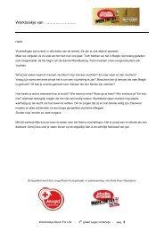 Werkboekje van …………………… - Tracing - Rode Kruis-Vlaanderen