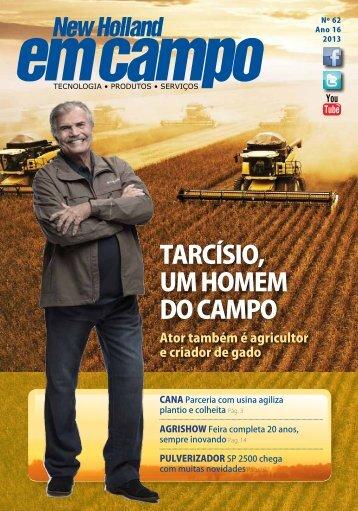 tARCíSIO, Um HOmEm DO CAmPO - New Holland