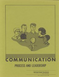 Communication - Process and Leadership - Department of ...