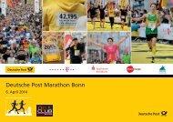 Anmeldeformular - Deutsche Post Marathon Bonn