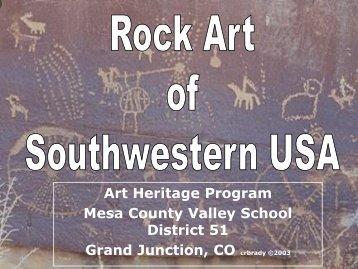 Rock Art of Southwestern USA - Art Heritage