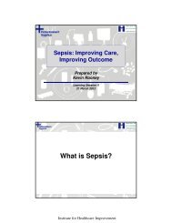 What is Sepsis? - Sikker Patient