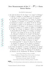 arXiv:hep-ex/0207049v1 19 Jul 2002 - Physics
