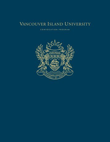 Graduates, stay connected - Vancouver Island University
