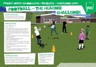 football - the heading challenge - School Games