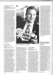 Presseberichte - Hot Pepper Jazz Band