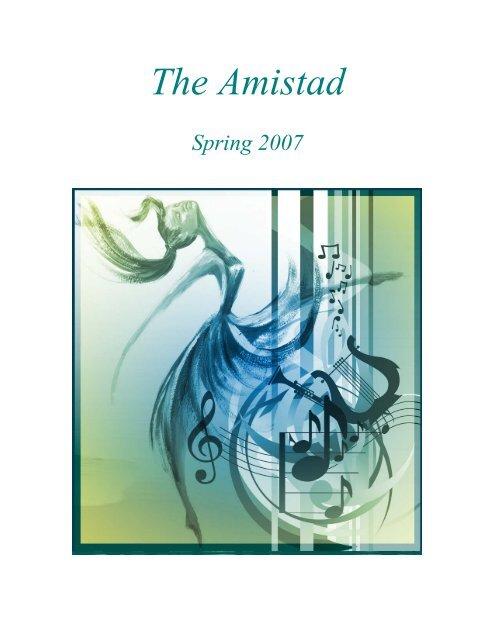 The Amistad – Spring 2007 - COAS - Howard University