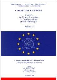 Escala Macrosísmica Europea 1998 EMS – 98 - Ingeominas