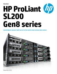 HP ProLiant SL270s Gen8 server - Icecat.biz