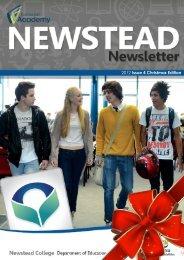 2012 Issue 4 Christmas Edition - Tasmanian Academy