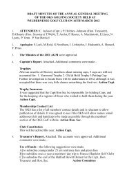 AGM 2012 Minutes - Draft