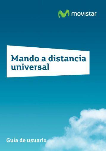 Mando a distancia universal ( pdf, 1.531 Kb ) - Movistar