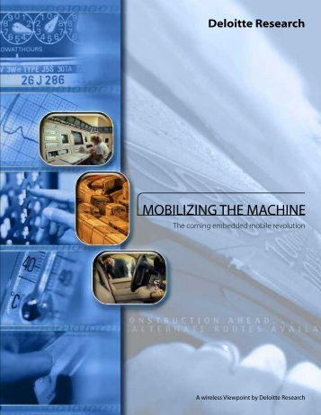 Mobilizing the Machine – Deloitte Paper - Numerex