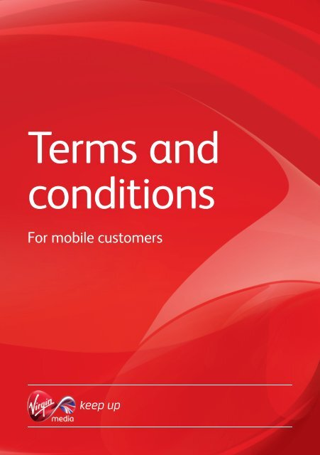 Download our services legal stuff - Virgin Media